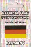 Germany Country Flag Tattoos.